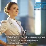 Dịch tài liệu tiếng Anh chuyên ngành - dịch vụ mũi nhọn của Dịch Thuật SMS