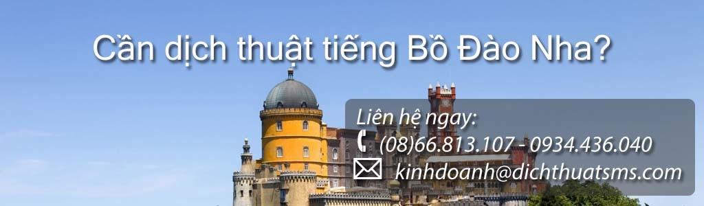 Dịch tài liệu tiếng Bồ Đào Nha - Công ty Dịch Thuật SMS