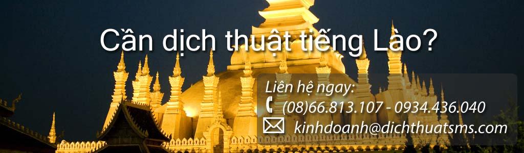 Dịch tài liệu tiếng Lào - Công ty Dịch Thuật SMS