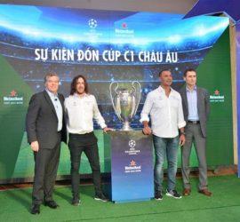Dịch Thuật SMS cung cấp phiên dịch tiếng Tây Ban Nha cho sự kiện Đón cúp C1 châu Âu tháng 4.2016