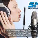 Dịch vụ lồng tiếng Anh với giọng người bản xứ tại Dịch Thuật SMS sẽ tránh được các lỗi phát âm sai thường gặp bởi các voice talent người Việt, giúp mang lại sản phẩm TVC chuyên nghiệp cho các doanh nghiệp