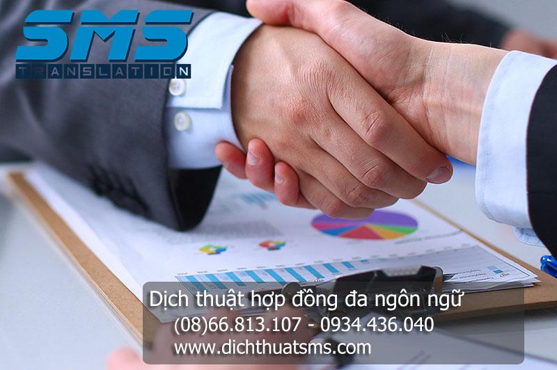 Dịch thuật hợp đồng tiếng Hoa (tiếng Trung) là một trong các dịch vụ thế mạnh của Dịch Thuật SMS