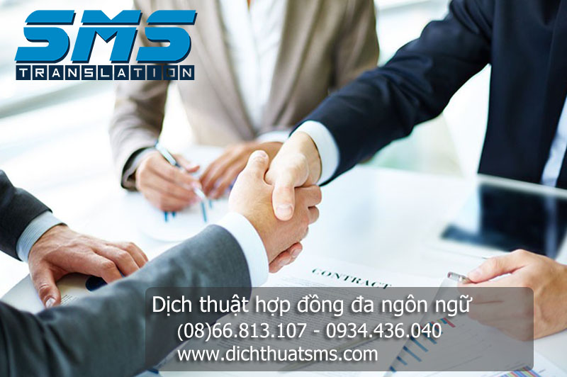 Dịch Thuật SMS là chuyên gia dịch thuật hợp đồng song ngữ Anh Hàn và Việt Hàn