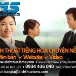 Dịch văn bản, dịch thuật website, dịch thuật video, dịch hợp đồng kinh tế tiếng Trung là mảng dịch vụ chuyên nghiệp tại Dịch Thuật SMS.