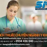 Dịch Thuật SMS chuyên dịch tài liệu y học tiếng Anh và tiếng Pháp, dịch bài báo y khoa, bài đăng tập san chuyên ngành y học (paper, review, case report…)